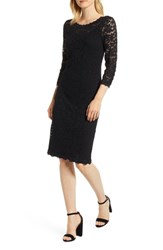 Rosemunde Delicia Lace Body Con Dress Black