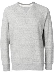 Bellerose Melange Crew Neck Sweatshirt Grey