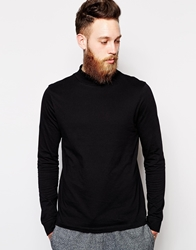 Asos Long Sleeve With Turtle Neck Black