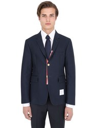Thom Browne Deconstructed Cotton Twill Jacket
