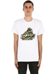 Xlarge Camo Og Printed Cotton Jersey T Shirt White