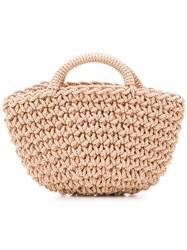 Rejina Pyo Natural Style Woven Bag Gold