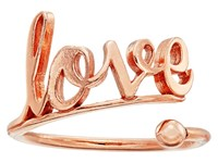 Alex And Ani Love Ring Wrap Precious Metal 14Kt Rose Gold Plate Ring