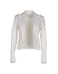 Frankie Morello Suits And Jackets Blazers Women Ivory