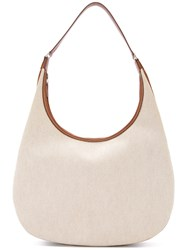 Hermes Vintage Gao Shoulder Bag Nude And Neutrals