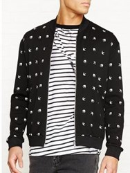 Mcq By Alexander Mcqueen Casual Bomber Jacket Black