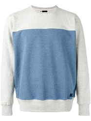 Bleu De Paname Slim Fit Sweatshirt Men Cotton S Blue