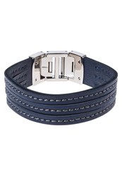 Fossil Bracelet Silvercoloured Dark Blue
