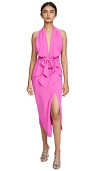 Misha Collection Lorena Dress Fuchsia