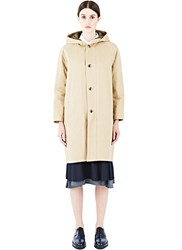 Sawa Takai Oversized Hooded Coat Neutrals