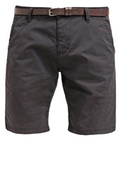S.Oliver Shorts Grey Black Anthracite