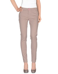 Scee By Twin Set Casual Pants Dove Grey