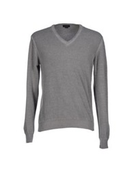 Seventy By Sergio Tegon Sweaters Grey