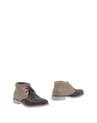 Alexander Hotto Ankle Boots Grey