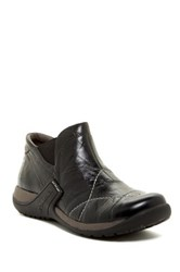 Romika Milla Leather Chelsea Mid Boot Black