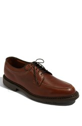 Men's Allen Edmonds 'Wilbert' Split Toe Derby Brown
