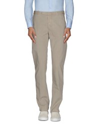 Heavy Project Trousers Casual Trousers Men Beige
