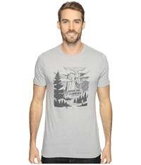 Royal Robbins Keep On Climbing Tee Charcoal Men's T Shirt Gray