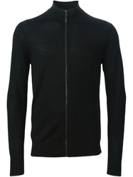 Michael Kors Zip Cardigan Black