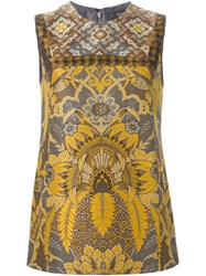 Etro Brocade Tank Top Multicolour