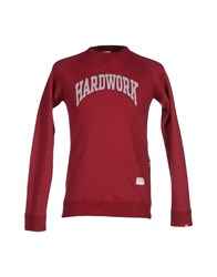 Bedwin And The Heartbreakers Topwear Sweatshirts Men Maroon