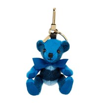 Burberry Shoes And Accessories Thomas Check Bear Charm Female Blue