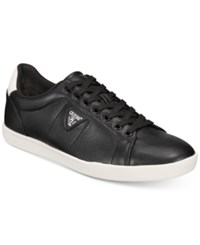 Guess Fusto Low Top Sneakers Shoes Black
