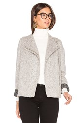 Bcbgeneration Asymmetric Zip Jacket White