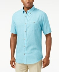 Weatherproof Slub Short Sleeve Shirt