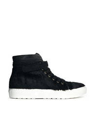 Whistles Black Pony Rigby Hi Top Trainers Blackpony