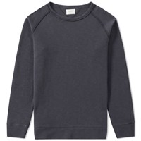 Nudie Jeans Diego Overdyed Crew Sweat Grey