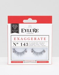 Eylure Exaggerate Lashes No. 143 Exaggerate No. 143 Black