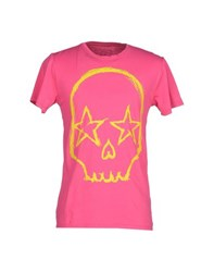Gorgeous Topwear T Shirts Men Fuchsia