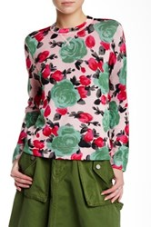 Marc By Marc Jacobs Crew Neck Printed Sweater