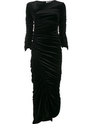 Preen By Thornton Bregazzi Ruched Fitted Dress Black