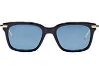 Thom Browne Men's Square Sunglasses Navy