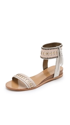 Cynthia Vincent Fayette Sandals Nude Combo