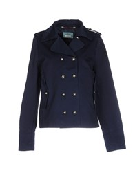 Replay Coats And Jackets Jackets Women Dark Blue