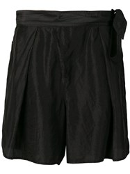 Forte Forte Casual Shorts Black