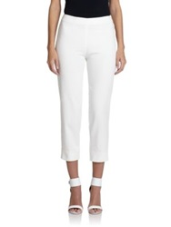 Piazza Sempione Audrey Denim Pants White