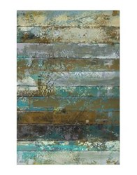 Marmont Hill Beachwood Ii Painting Print On Wrapped Canvas Blue