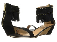 Report Gizmo Black Women's Wedge Shoes