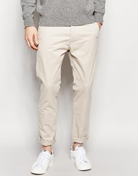 French Connection Stretch Skinny Chinos Beige