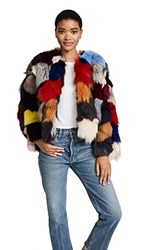 Jocelyn Fox Sections Jacket Bright Multi