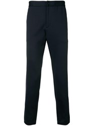 Theory Side Stripe Trousers Blue