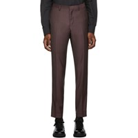 Tiger Of Sweden Burgundy Todd Trousers