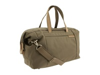 Briggs And Riley Baseline Large Travel Satchel Olive Duffel Bags