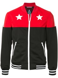 Guild Prime Star Print Sweat Jacket Red