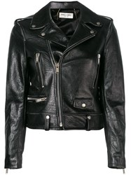 Saint Laurent Biker Jacket Black