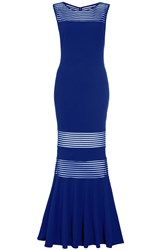 Quiz Royal Blue Maxi Dress Blue